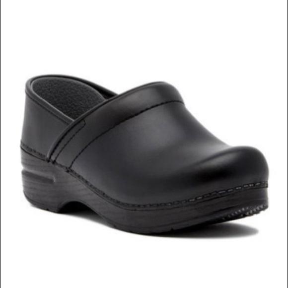 Professional Black Leather Clog   Poshmark